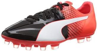 Puma (プーマ) - [プーマ] サッカーシューズ EVOSPEED 1.5 HG JR プーマ ブラック/プーマ ホワイト/レッド ブラスト 21.0(21cm) (旧モデル)