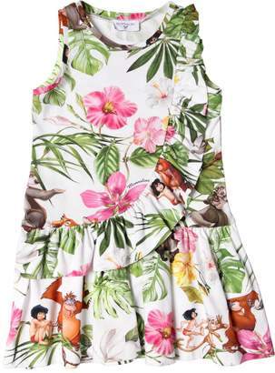 MonnaLisa Jungle Book Cotton Interlock Dress