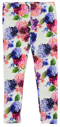 GUESS Logo Floral Leggings