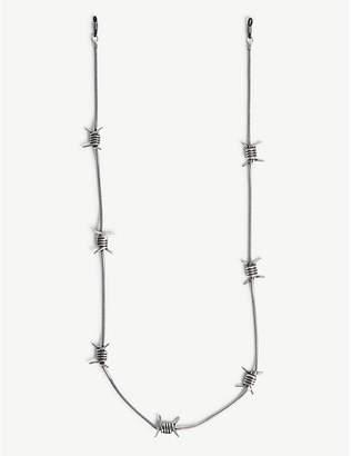 Palm Angels Barbwire metal sunglasses chain