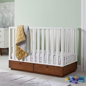 west elm Modern Convertible Storage Crib