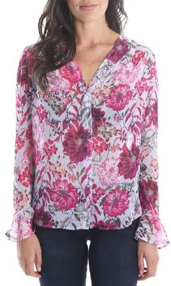 KUT from the Kloth Silvy Floral Blouse
