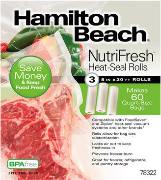 Hamilton Beach NutriFreshTM Heat-Seal Rolls