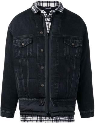 Balenciaga triple layer jacket