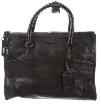 Reed Krakoff Grained Leather Satchel