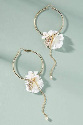 Anton Heunis Blooming Willow Hoop Earrings