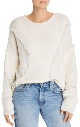 ATM Anthony Thomas Melillo Fringe-Trimmed Sweater