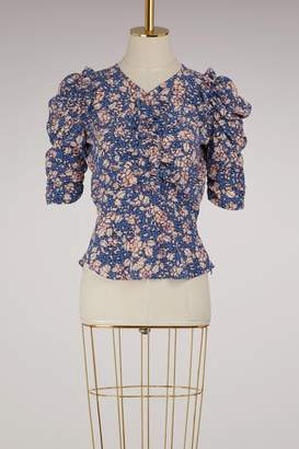 Isabel Marant Brizo silk top