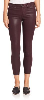Joe's Icon Ankle Coated Skinny Jeans $179 thestylecure.com