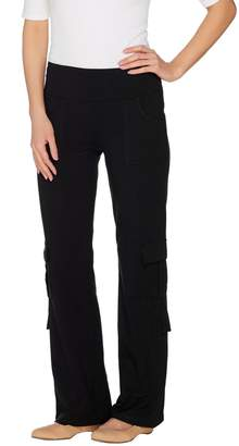 688982098e323 Women With Control Wicked by Women with Control Petite Cargo Bootcut Pants