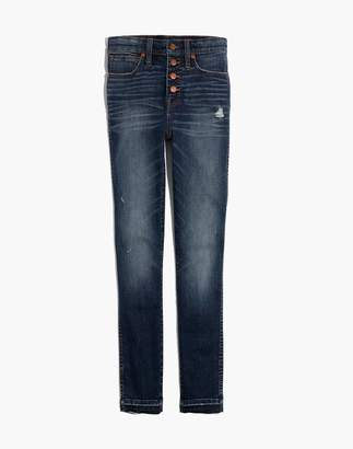 "Madewell 10"" High-Rise Skinny Jeans: Drop-Hem Edition"