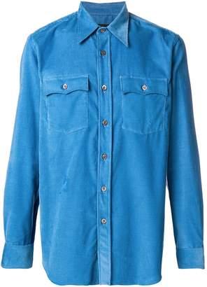 Prada pocket corduroy shirt