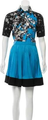 Ungaro Printed Mini Dress
