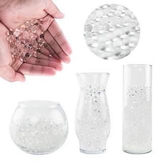 clear Super Z Outlet 1 Pound Bag of Water Gel Beads Pearls for Vase Filler