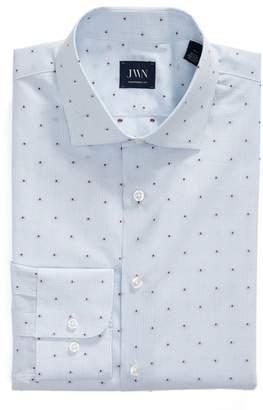 John W. Nordstrom R) Traditional Fit Check Dress Shirt