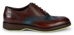 Harry's of London Simon Two-Tone Wingtop Brogues