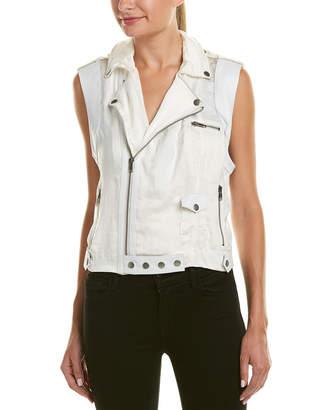 Jakett Jilli Leather-Trim Vest