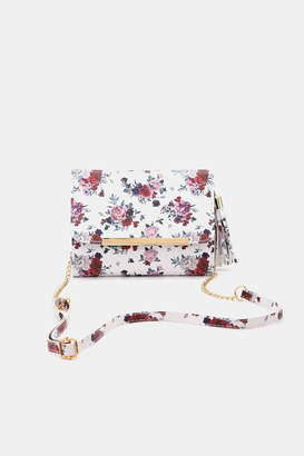 Ardene Floral Print Clutch Bag