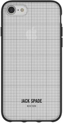 Jack Spade Comold Case for iPhone 8, iPhone 7 & iPhone 6/6S - Graph Check/Clear