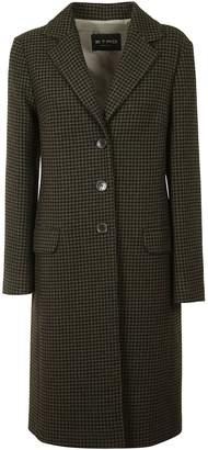 Etro Houndstooth Knit Long Coat