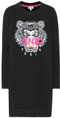 Kenzo Tiger Logo sweatshirt dress