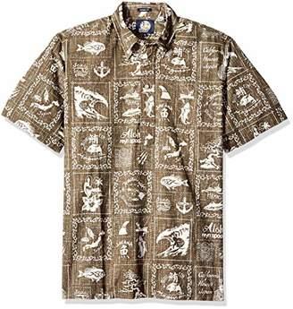 Reyn Spooner Men's Stories from The East Spooner Kloth Classic Pullover Shirt