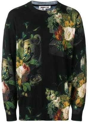 McQ Dutch floral print sweater