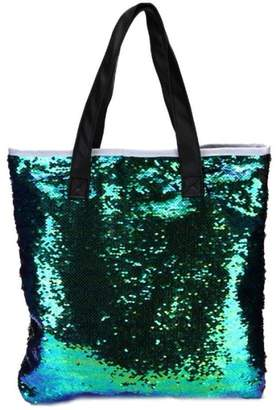 Bao Xiniu ladies hand bags Double Color Sequins shoulder bags Tote for Women Tote 2017 shoulder bags  M