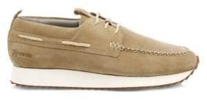 Grenson Men's Sneaker 15 Suede Wedge Topsiders - Rock Suede - Size 6