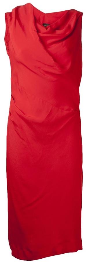 Vivienne Westwood 'Alto' drape neck dress