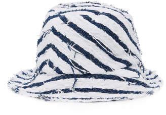 Eugenia Kim Toby Striped Canvas Bucket Hat