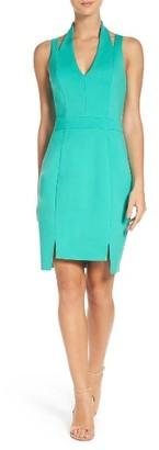 Women's Adelyn Rae Cutout Body-Con Dress $92 thestylecure.com