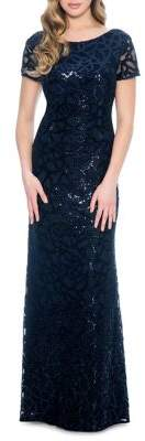 Decode 1.8 Sequin Burnout Gown