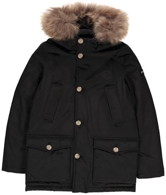 WOOLRICH Parka with Fur Hood $606 thestylecure.com