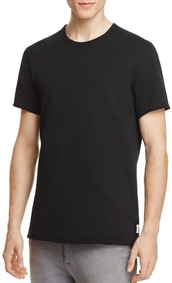 REIGNING CHAMP Raw Edge Tee $90 thestylecure.com