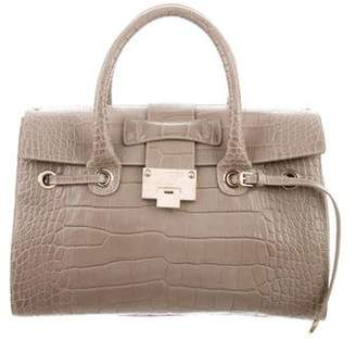 Jimmy Choo Embossed Rosalie Satchel