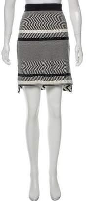 Tess Giberson Knit Jacquard Skirt