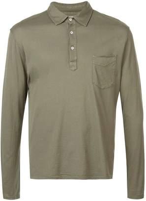 Officine Generale plain polo shirt