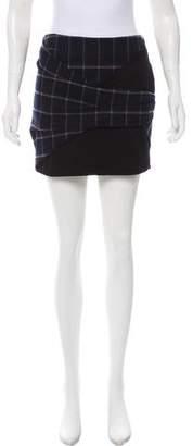 Thakoon Plaid Mini Skirt