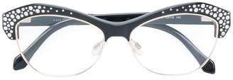 Roberto Cavalli cat eye glasses