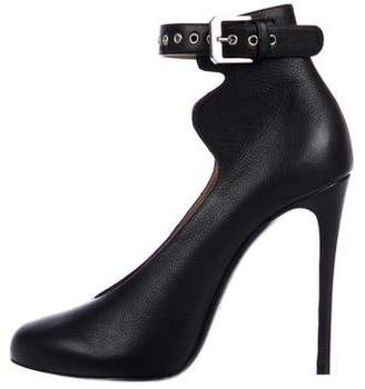 Laurence Dacade Leather Ankle-Strap Pumps