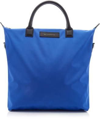 WANT Les Essentiels O'Hare Leather-Trimmed Shell Shopper Tote