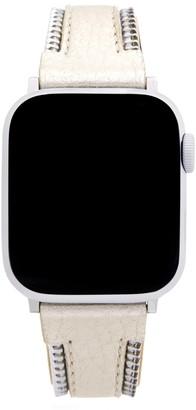 Rebecca Minkoff Metallic Leather Apple Watch® Strap
