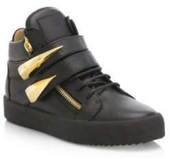 Giuseppe Zanotti Mid-Top Double Strap Sneakers