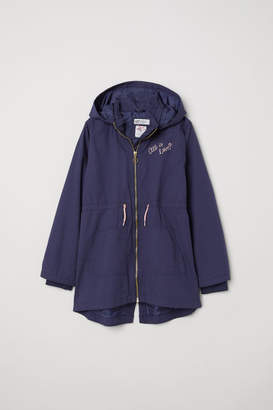 H&M Parka with Hood - Blue