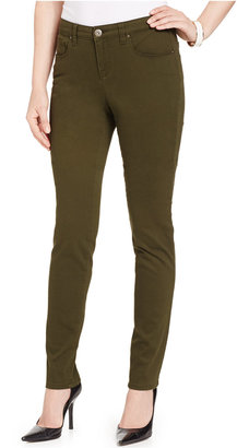 Style & Co. Curvy-Fit Colored Wash Skinny Jeans, Only at Macy's $49 thestylecure.com