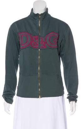 Dolce & Gabbana Long Sleeve Zip-Up Jacket