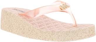 bc01d53015ae MICHAEL Michael Kors Gage Kiley Glitter Flip Flop