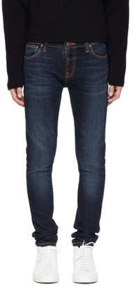 Nudie Jeans Blue Skinny Lin Jeans