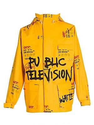 Off-White Men's Gore-Tex Public Television Ski Jacket
